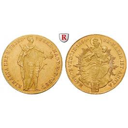 Ungarn, Freiheitskrieg, Dukat 1848, 3,44 g fein, f.vz