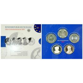 Bundesrepublik Deutschland, 5 x 10 Euro 2013, PP