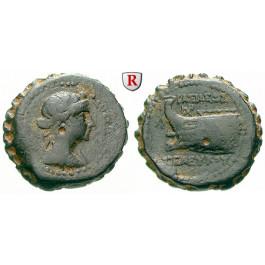Syrien, Königreich der Seleukiden, Seleukos IV., Bronze, ss