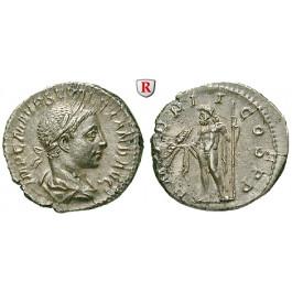 Römische Kaiserzeit, Severus Alexander, Denar 223, vz