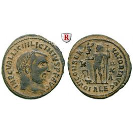 Römische Kaiserzeit, Licinius I., Follis 316-317, ss-vz