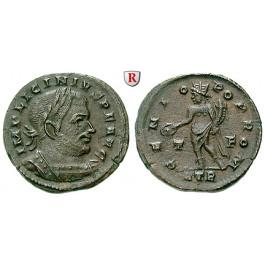 Römische Kaiserzeit, Licinius I., Follis 316, f.vz
