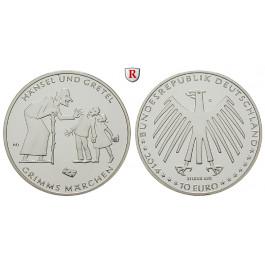 Bundesrepublik Deutschland, 10 Euro 2014, Hänsel und Gretel, G, PP