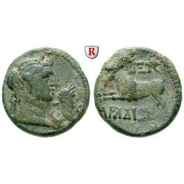 Römische Provinzialprägungen, Phönizien, Arados, Traianus, Bronze 106-107, ss+