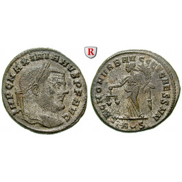 Römische Kaiserzeit, Maximianus Herculius, Follis 302-303, vz