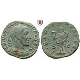 Römische Kaiserzeit, Philippus I., Sesterz 247-249, ss