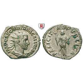Römische Kaiserzeit, Trebonianus Gallus, Antoninian 251-253, vz
