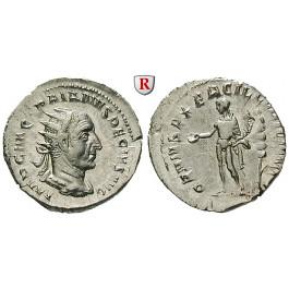 Römische Kaiserzeit, Traianus Decius, Antoninian 249-251, st
