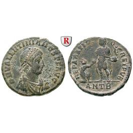Römische Kaiserzeit, Valentinianus II., Bronze 383-388, ss-vz