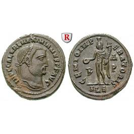 Römische Kaiserzeit, Galerius, Follis 308-310, vz+