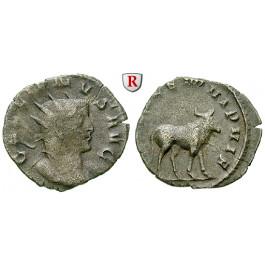 Römische Kaiserzeit, Gallienus, Antoninian 258/261, ss