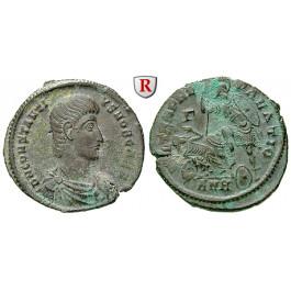 Römische Kaiserzeit, Constantius Gallus, Caesar, Bronze 350-355, ss+
