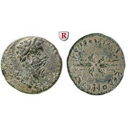 Römische Provinzialprägungen, Makedonien, Koinon von Makedonien, Marcus Aurelius, Bronze, ss