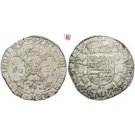 Frankreich, Burgund - Herzogtum, Philipp IV., Patagon 1625, ss