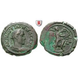 Römische Provinzialprägungen, Ägypten, Alexandria, Philippus I., Tetradrachme Jahr 4 = 246-247 n.Chr., ss