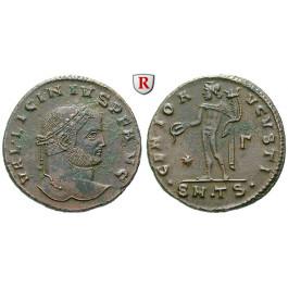 Römische Kaiserzeit, Licinius I., Follis 308-310, ss-vz