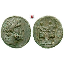 Koile Syria, Chalkis ad Libanon, Ptolemaios, Tetrarch, Bronze, ss-vz