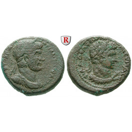 Römische Provinzialprägungen, Dekapolis, Philadelphia, Hadrianus, Bronze, ss+