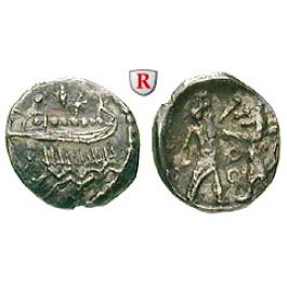 Phönizien, Sidon, Euagoras II. von Salamis, 1/16 Schekel, vz