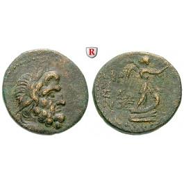 Römische Provinzialprägungen, Phönizien, Sidon, Autonome Prägungen, Bronze 10-9 v.Chr., ss+