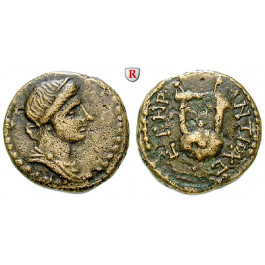 Römische Provinzialprägungen, Seleukis und Pieria, Antiocheia am Orontes, Autonome Prägungen, Bronze Jahr 108 = 59/60 n.Chr., ss-vz/ss