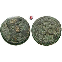 Römische Provinzialprägungen, Seleukis und Pieria, Antiocheia am Orontes, Nero, Bronze, s-ss