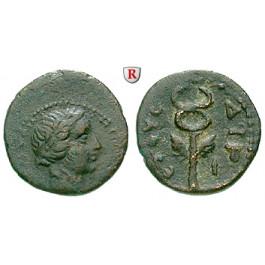 Römische Provinzialprägungen, Seleukis und Pieria, Antiocheia am Orontes, Autonome Prägungen, Bronze Jahr 194 = 145/6 n.Chr., ss