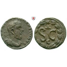Römische Provinzialprägungen, Seleukis und Pieria, Antiocheia am Orontes, Macrinus, Bronze, ss-vz