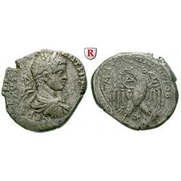 Römische Provinzialprägungen, Seleukis und Pieria, Antiocheia am Orontes, Elagabal, Tetradrachme 219 n.Chr., ss+