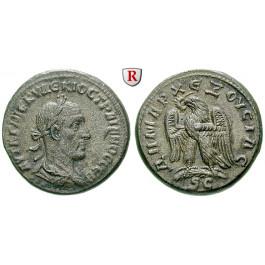 Römische Provinzialprägungen, Seleukis und Pieria, Antiocheia am Orontes, Traianus Decius, Tetradrachme, ss-vz/vz
