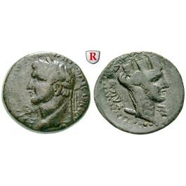 Römische Provinzialprägungen, Seleukis und Pieria, Laodikeia ad mare, Domitianus, Bronze, f.ss