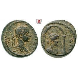 Römische Provinzialprägungen, Seleukis und Pieria, Laodikeia ad mare, Elagabal, Bronze, ss/f.ss
