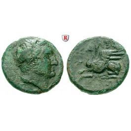 Thrakien, Abdera, Bronze ca. 240-202 v.Chr., s-ss