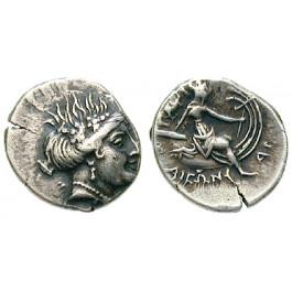 Euböa, Histiaia, Tetrobol 196-146 v.Chr., ss+