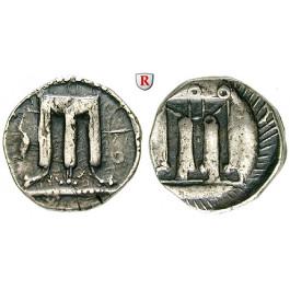 Italien-Bruttium, Kroton, Stater 500-460 v.Chr., ss+