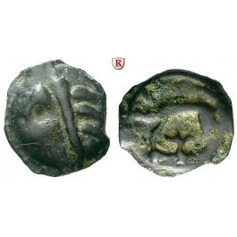Gallien, Leuci, Potin-Einheit 100-50 v.Chr., ss