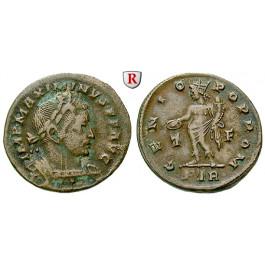 Römische Kaiserzeit, Maximinus II., Follis 310-313, ss/ss-vz