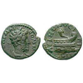 Römische Provinzialprägungen, Thrakien, Coela, Commodus, Bronze, ss+