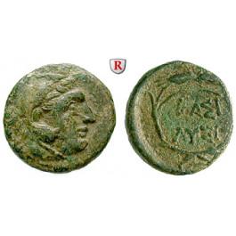 Thrakien, Königreich, Lysimachos, Bronze, f.ss