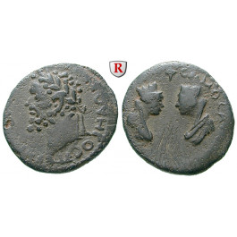 Römische Provinzialprägungen, Kommagene, Samosata, Septimius Severus, Bronze, ss/f.ss