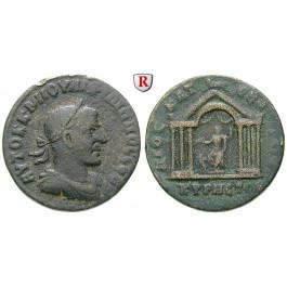 Römische Provinzialprägungen, Kyrrhestika, Kyrrhos, Philippus I., Bronze, ss