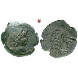 Syrien, Königreich der Seleukiden, Antiochos VII., Bronze, f.ss/s-ss