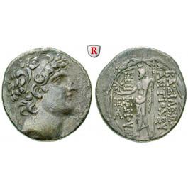Syrien, Königreich der Seleukiden, Antiochos VIII., Tetradrachme, ss