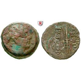 Syrien, Königreich der Seleukiden, Antiochos IX., Bronze, f.ss