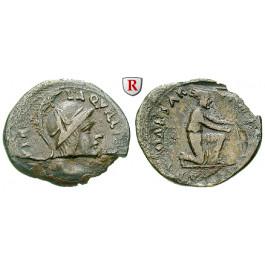 Römische Kaiserzeit, Augustus, Denar 19 v.-4 n.Chr., ss