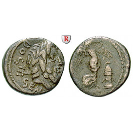 Römische Republik, L. Rubrius Dossenus, Quinar, ss