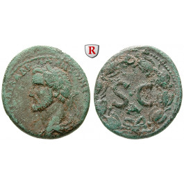 Römische Provinzialprägungen, Seleukis und Pieria, Antiocheia am Orontes, Antoninus Pius, Bronze, s-ss/ss