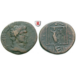 Römische Provinzialprägungen, Phönizien, Berytus, Caracalla, Bronze, f.ss/ss