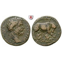 Römische Provinzialprägungen, Lydien, Philadelphia, Septimius Severus, Bronze, s-ss