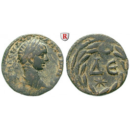 Römische Provinzialprägungen, Seleukis und Pieria, Antiocheia am Orontes, Elagabal, Bronze, ss+